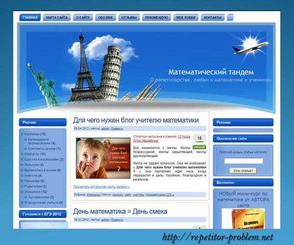 Анализ веб-сайта