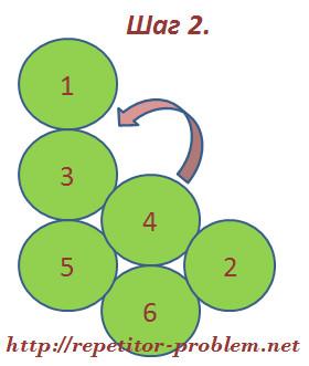 "Задача-головоломка ""Подстаканники"": шаг 2."
