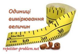 Системи одиниць вимірювання у віршах